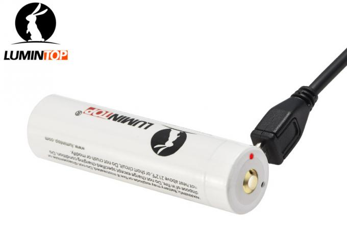 Batterie rechargeable de Lumintop Lm34c, batterie rechargeable du lithium 3400mAh 18650